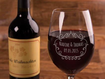 Weinglas Mit Gravur Gunstig Fur Nur 14 90 Online Auf Rechnung